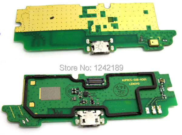 USB charging charge connector mirophone PCB dock replacement repair part For Lenovo A850