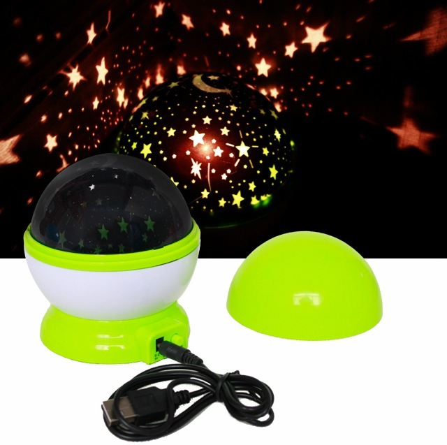 New High Quality Multicolor LED Sky Star night light projector lamp lighting children room kids festival indoor home decoration(China (Mainland))