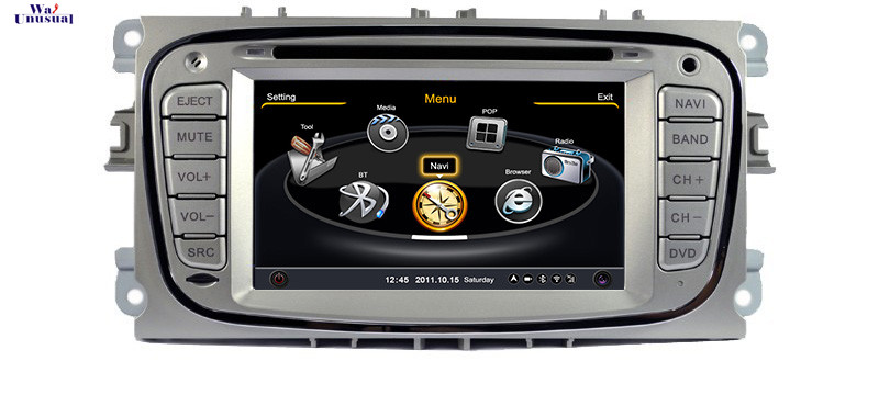 A8 Chipset 2 Din S100 Car DVD For Ford MONDEO 2007 2008 2009 2010 2011 With GPS Navigation FM/AM Radio RDS Bluetooth TV Free Map(China (Mainland))