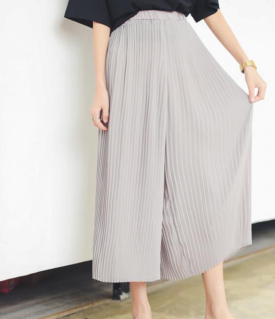 Women Pleated Pants