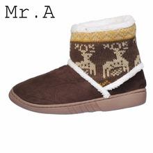 Botas de mujer de moda superior del tobillo mujeres calientes de la nieve botas felpa corta Ladies Winter Boot zapatos artificiales además tamaño Drop Shipping(China (Mainland))