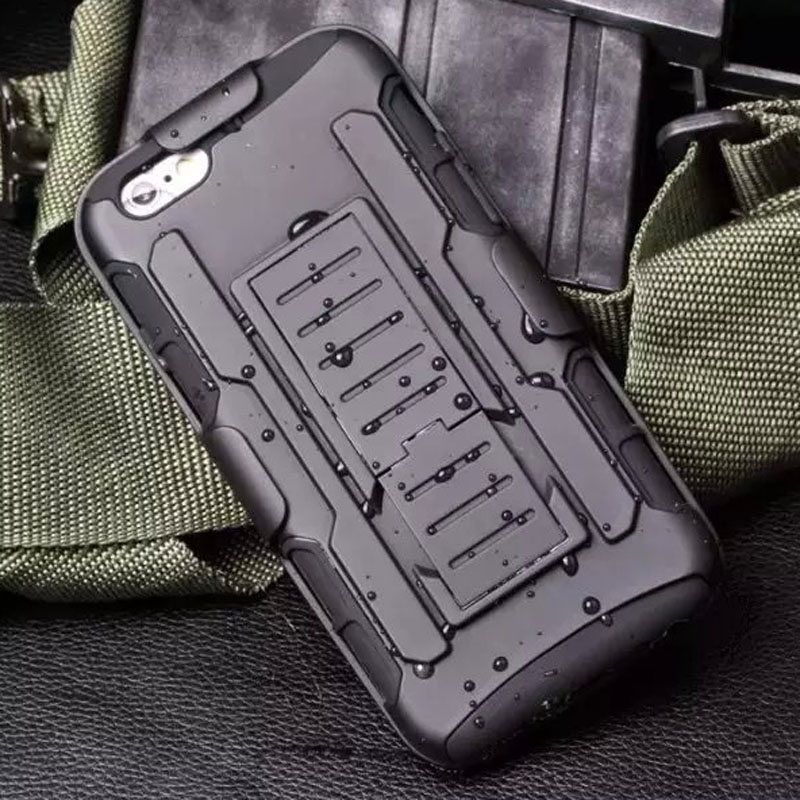 For iPOD TOUCH 5 5TH / Touch 6 6th Case Armor Kickstand Belt Clip Holster Impact Hybrid Silicon Protective Case(China (Mainland))