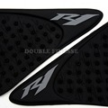 NEW black Motorcycle Accessories Carbon Fiber Tank Pad tank Protector Sticker for YAMAHA YZF R1 2007