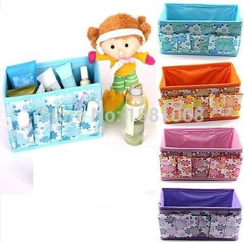 Multifunction Folding Make Up Cosmetic Storage Box Organizer Container Bag Case(China (Mainland))
