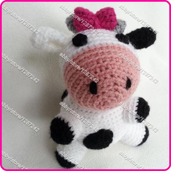 Amigurumi vaca patron gratis - Imagui