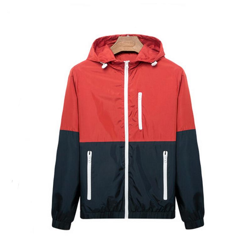 2016 spring new men's sports jacket Outdoor sportswear Men Fashion Thin Windbreaker jacket Zipper Coats Outwear men's clothing(China (Mainland))