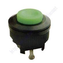 Новый 2X AC 250 В 1A зеленый кепка мгновенный SPST 2 контакт. кнопка выключатель DS 500