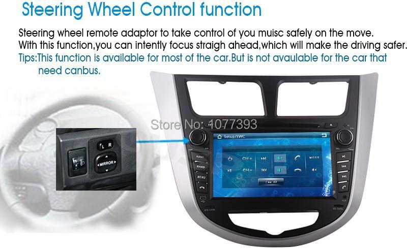 android Car stereo pc for Hyundai Verna 2010 2011 2012 2013 2014 Solaris I25 Russian MEMU