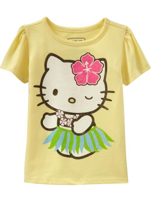 new 2017 girl summer hello kitty t-shirt baby girl boy clothes short sleeve tees children cotton t shirts 5359(China (Mainland))