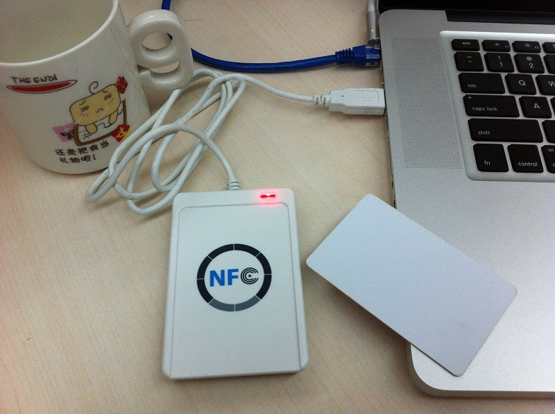 ACR122u USB NFC Reader 13.56Mhz Rfid Reader Writer+5 Pcs RFID Card+ Software Support Android Linux Mac Windows(China (Mainland))