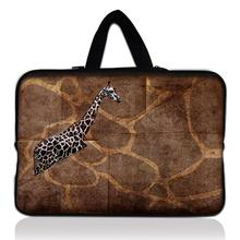 "Buy Giraffe Prints 15"" 15.4"" 15.5"" 15.6"" Laptop Neoprene Soft Sleeve Bag Case Cover+ Hide Handle Acer Dell HP Sony ASUS for $11.89 in AliExpress store"