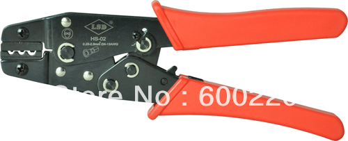 Mini Crimping tool HS-02 hand crimping tool for non-insulated cable links 0.25-2.5mm2 crimper