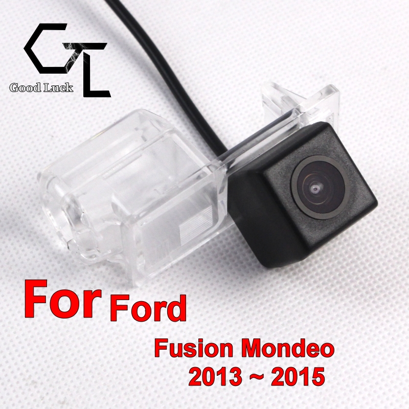 For Ford Fusion Mondeo 2013 ~ 2015 wireless Car Rear View camera Waterproof Reverse Backup HD CCD Night Vision Wide Angle(China (Mainland))