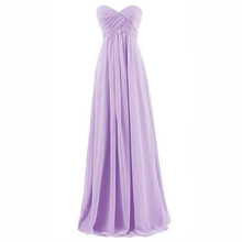 2016 New Chiffon Cheap Evening Dresses Long Formal Evening Dress For New Bride Sweetheart Prom Gowns 2016 vestidos de Festa(China (Mainland))