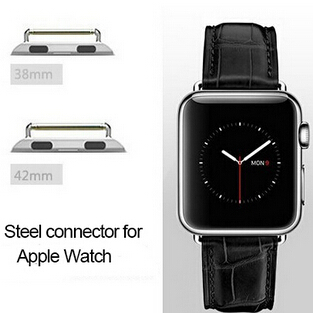 38mm 42mm For Apple Watch Band Adapter Seamless Connector Metal Watch Band Adapter For Apple Watch Sport Edition(China (Mainland))