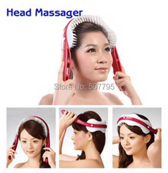 New relaxed handle brain head acupoint stimulation massager head Health care beauty Handheld Massage Free Shipping(China (Mainland))