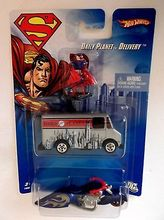 2007 HOT WHEELS SUPERMAN DAILY PLANET DELIVERY VAN,MOTORCYC Metal Diecast Hot Wheels Collection Kids Toys Vehicle Juguetes(China (Mainland))