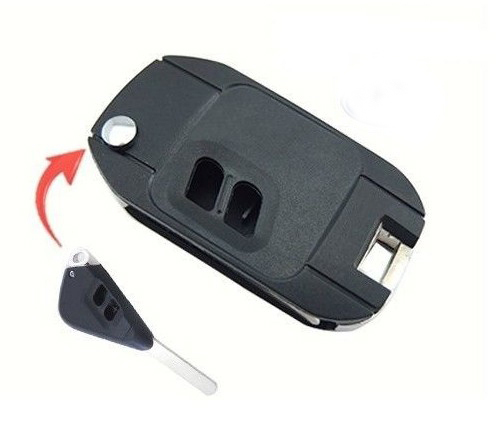 Modified Folding Remote Key Shell Case UNCUT REPLACEMENT 2 Button For Subaru Legacy Outback 2 Button(China (Mainland))