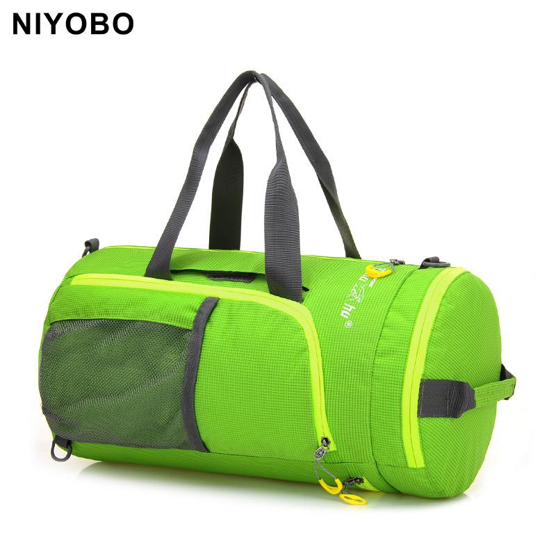 fashion women luggage bags Multifunction fold men bag casual travel duffle bag PT1060(China (Mainland))