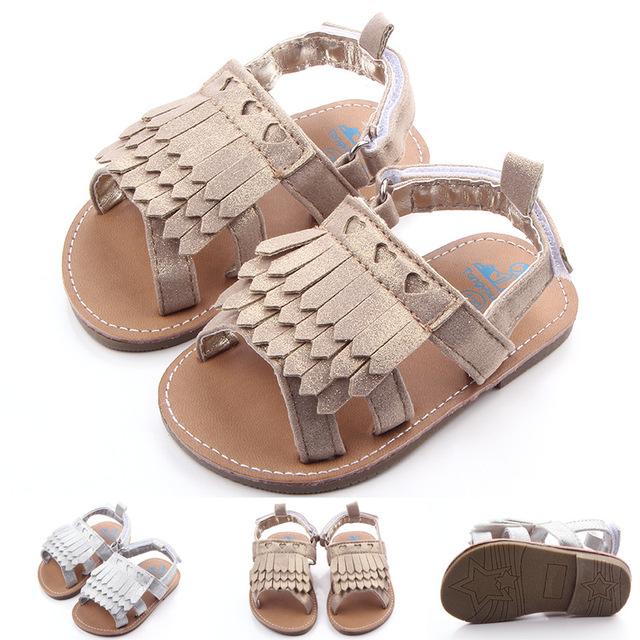Новый летний девочки резиновая подошва принцесса обувь малышей антискользящий первые ...