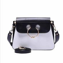 Europeu Casual flap bag Messenger Bag Mulheres Bolsa de Ombro Fêmea Bolsas Partido Senhoras Bolsas De Luxo Sacos para As Mulheres(China)