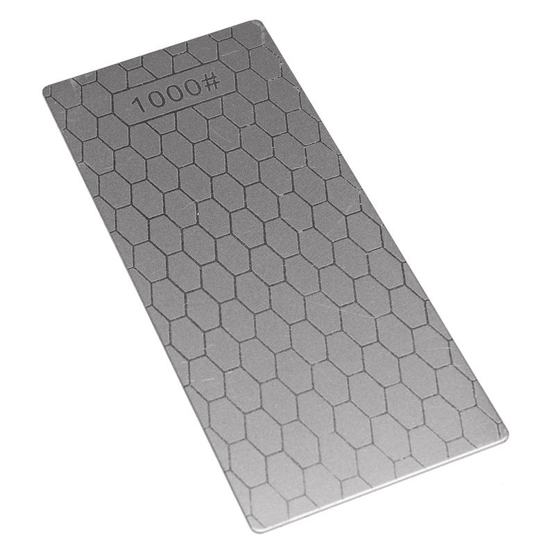1Pc 1000# S3 Diamond Knife Sharpener Sharpening Grinding Stone Whetstone Grit Honeycomb Knife Block Professional Knife Sharpen(China (Mainland))