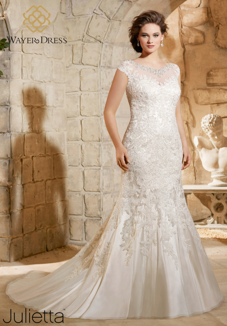 Lace Wedding Dresses For   On Bidorbuy : Lace plus size wedding dresses mermaid style rhinestone beaded