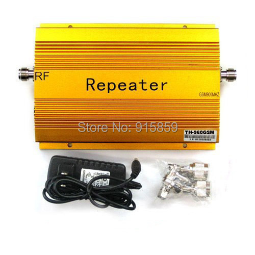Direct Marketing SUNHANS GSM960 900MHZ Mobile Phone RF Repeater gsm booster signal repeater amplifier 10pcs/lots Free shipping(China (Mainland))
