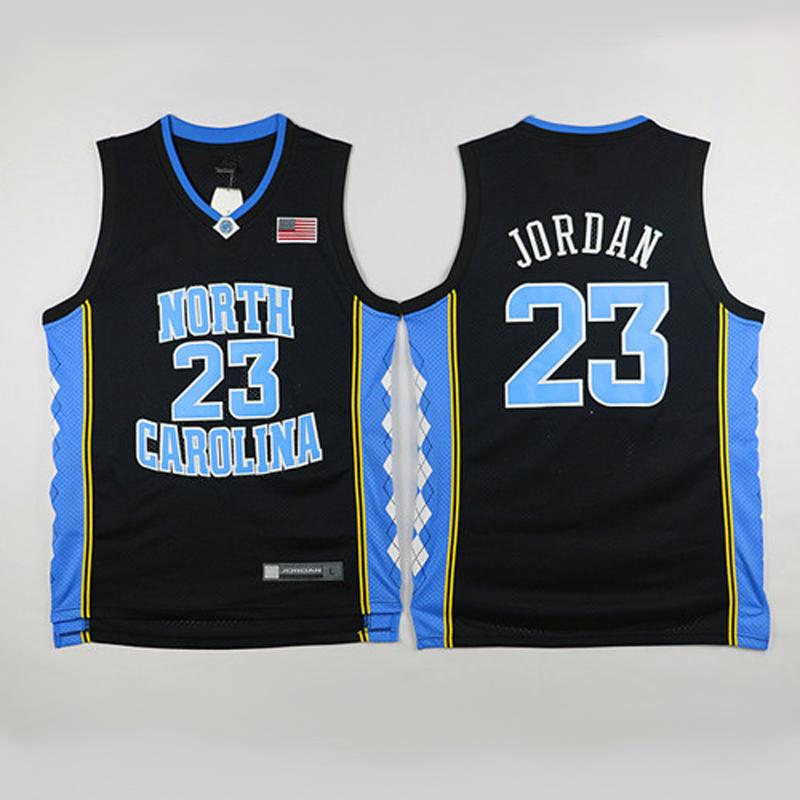 North Carolina Black Michael Jordan Jersey, Cheap Michael Jordan