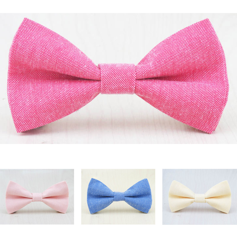 Brand New Children Bow Tie Cute Baby Bowtie Candy Colors Tuxedo Neck tie bow flower Girl Accessory Cotton Kids Bow Ties(China (Mainland))