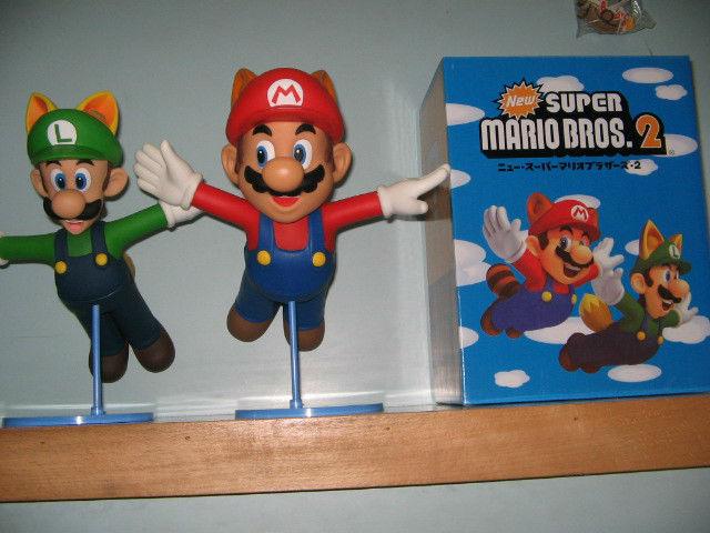 50pcs/lot Super Mario figures New Super Mario Bros.2 Mario and Luigi PVC figure 21cm height free shipping by EMS(China (Mainland))