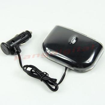 D19+New Triple 3 Way USB Socket Car Cigarette Lighter Power Adapter Splitter
