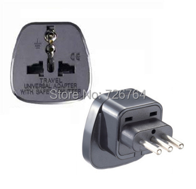 Top Multifunctional 5 pcs/lot 10A universal socket with safety shutter Italy AC power adaptor/ travel plug(China (Mainland))