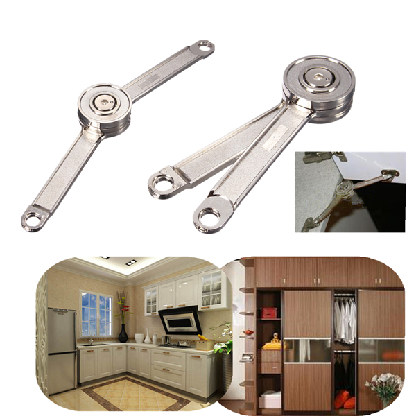3 pcs/Lot _ Adjustable Stays Support Toy Box Hinges Lift Up Tool for Kitchen Cupboard Cabinet Door(China (Mainland))