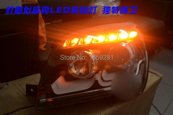 KlA Sportage headlight,2007~2013 (LHD,RHD need add 200USD),Free ship!KlA Sportage daytime light,2ps/se+2pcs Aozoom Ballast