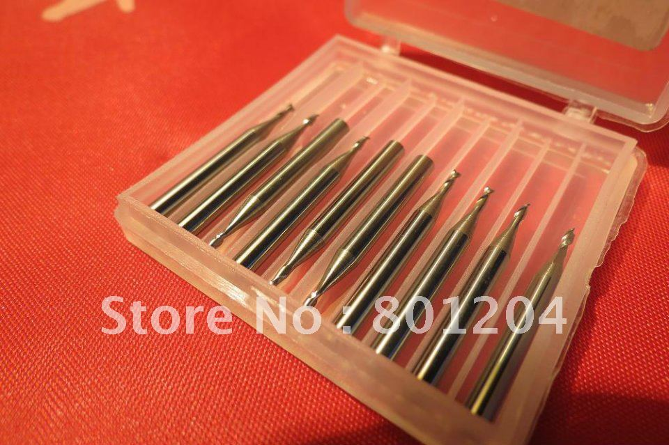 10pcs hard alloy violin Purfling Groove Cutter, 1.3mm diameter, drills<br><br>Aliexpress