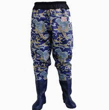 Outdoor Wader Waterproof Rubber Fishing Overalls shoes Pants boots Fly Fishing Waders 38~ 47Big size Breathable Fishing Wader