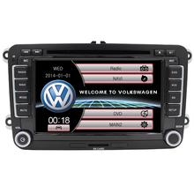 New Auto Radio Multimedia for Volkswagen VW Passat B6 SCIROCCO POLO Steering Wheel Control Car Dvd Player free 8G SD Card USB FM