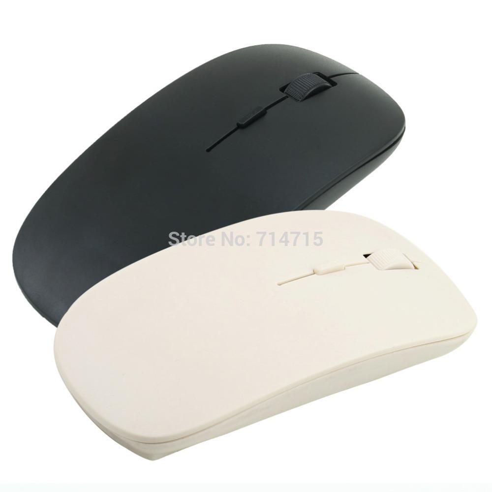 Гаджет  1 pcs 2.4G Wireless Ultra-Thin Optical Mouse for Laptop Free / Drop Shipping None Компьютер & сеть