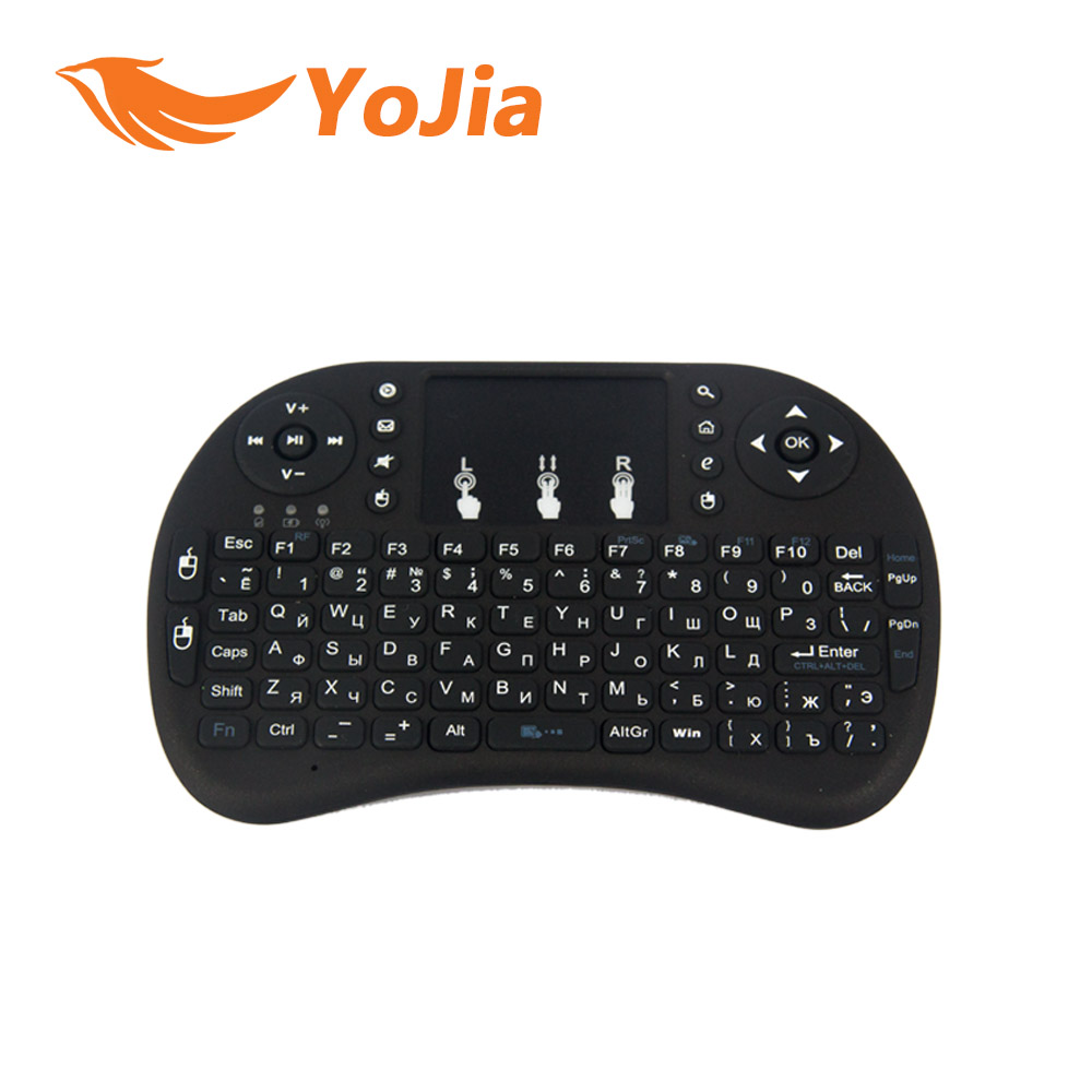 Original i8 Russian Version i8 2 4GHz Mini Wireless Keyboard Air Mouse Touchpad Handheld for Android