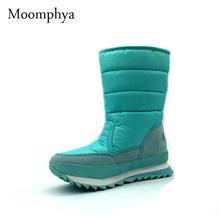 Más el tamaño 35-42 cargadores de las mujeres zapatos de mujer antideslizante botas de lluvia a prueba de viento Ocio Vario color de la Nieve del invierno botas de 10 colores(China (Mainland))