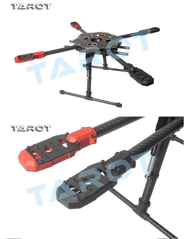 Tarot 650 четырехосевой каркас воздушного транспортного средства Электрический 52