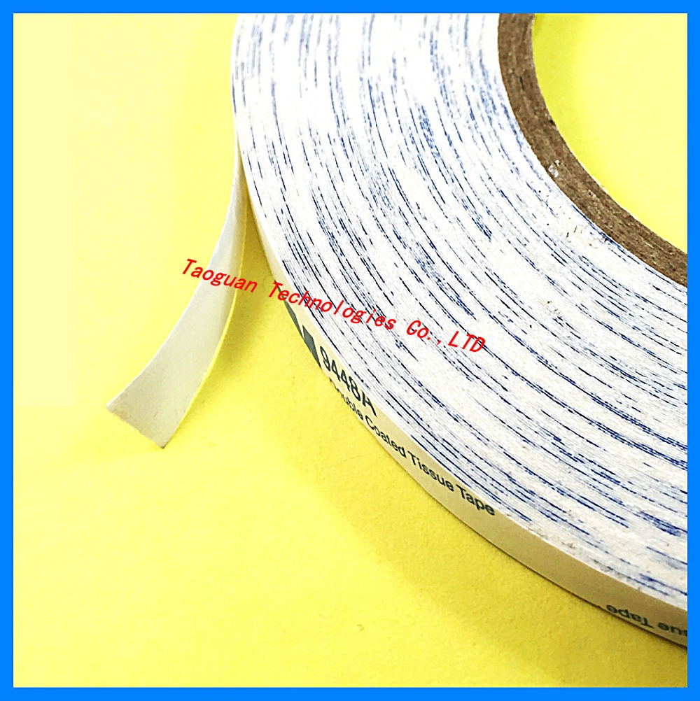 1 Roll 8mm White Double Side Adhesive Sticker Tape For Samsung galaxy S5 S6 edge note