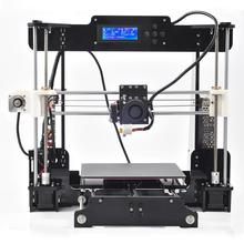 OMNI Prusa i3 3d Printer DIY kit Black Color High Precision Reprap Big print size 220*220*240mm+free 2roll Filaments+8g SD Card