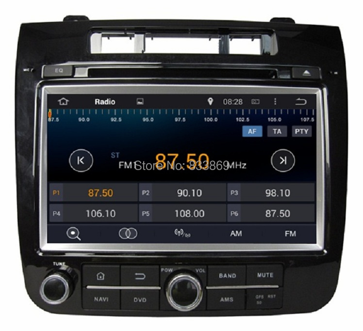 """1024*600 Android 4.4 HD 2 din 8"""" Car DVD Player for VW Volkswagen TOUAREG 2010-2014 With 3G/WIFI Bluetooth IPOD TV Radio AUX IN(China (Mainland))"""