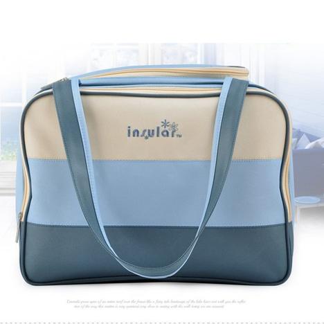 Полосатый стиль мода мама большой емкости многофункциональный беременным рюкзак уход ...