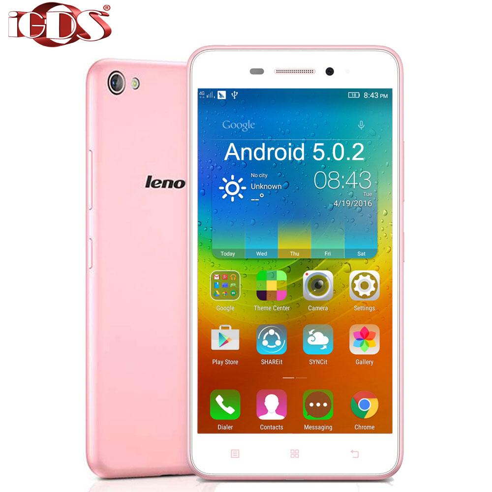 Original Lenovo S60 S60W S60T 4G LTE Snapdragon 410 64bit Quad Core 5.0inch 2GB RAM 8GB Android 5.0.2 13.0MP Camera Cell Phone(China (Mainland))