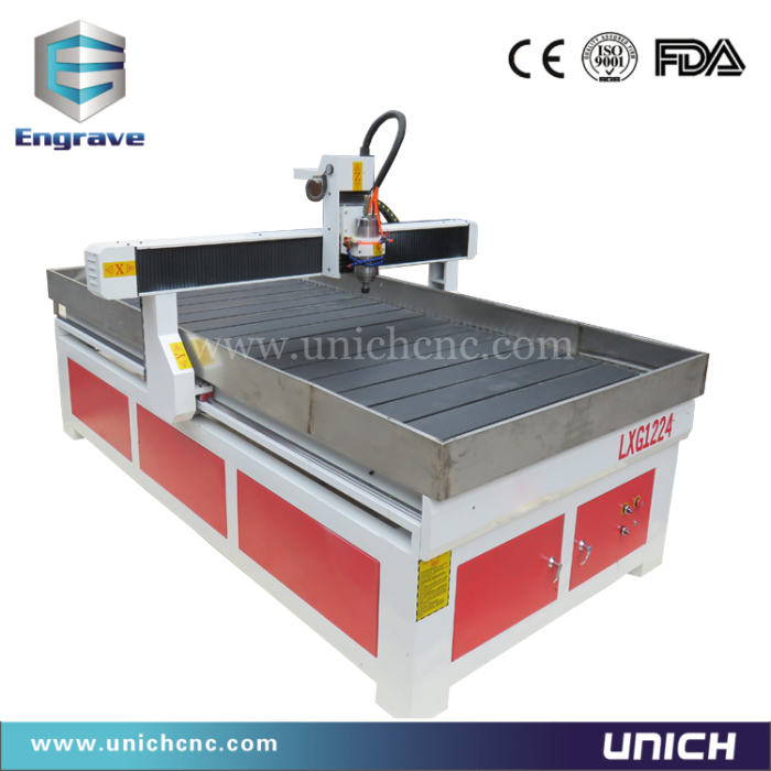 Factory supply high quality cheap price wood cnc router machine,cnc router parts LXG1224(China (Mainland))