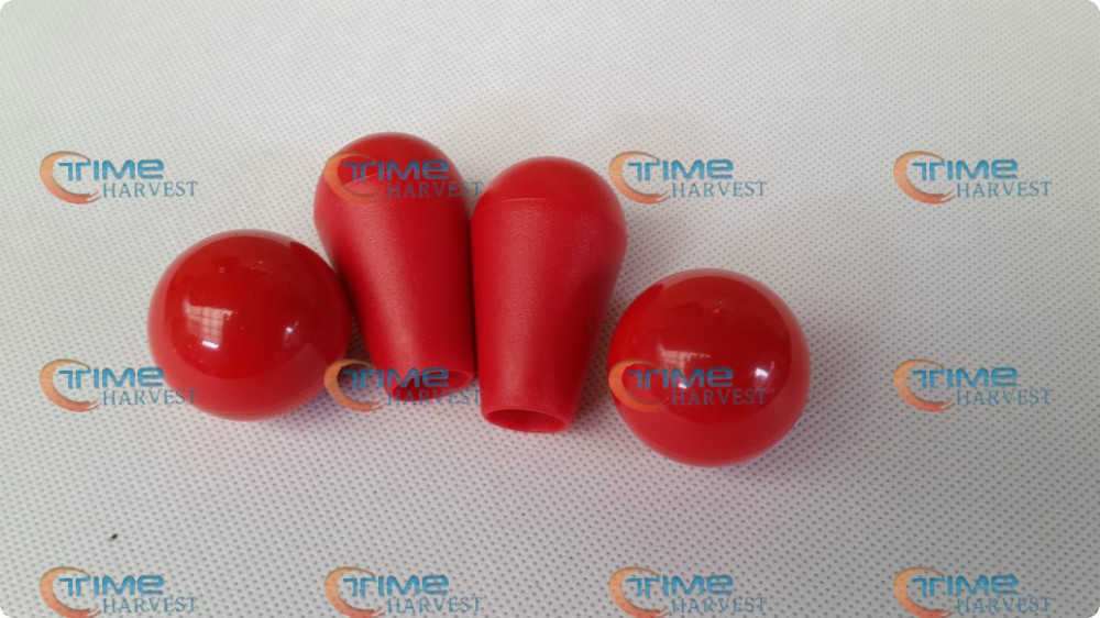10 pcs Oval & Round ball top Joystick-17 colors available red or black colour ball top Arcade joystick parts accessories(China (Mainland))