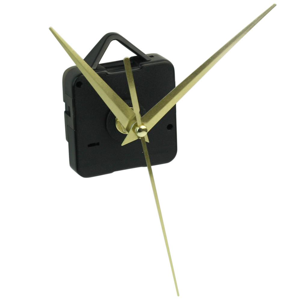 Black Quartz Wall Clock Movement Mechanism With 3 Antique Bronze Hands DIY Repair Parts Kit Home Decoration HOT(China (Mainland))